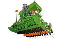 Tractor seeder grain Amazone AD-P