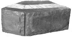 Блок эркерный 45град БЭ 60.20.40. Размеры 600*200*400мм. Купить термоблоки  Черкассы