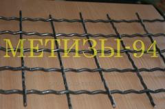 Сетка канилированная 50х50х4 (сложно-рифленая),
