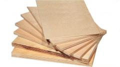 Plywood. Dimensions: 1525 x 1525, 1525 x 1830;