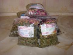 Tea (collecting) from the Crimean herbs Ah-Petri,