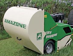 The hook-on mower with the accumulative CityHopper