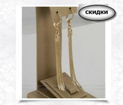 Ювелирная бижутерия - Модель: Серьги AV-20552