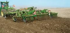 Combination a cultivator – a disk harrow of