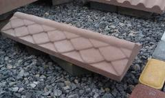 Крышка на парапет бетонная