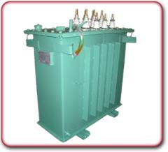 Transformers for warming up of concrete and soil