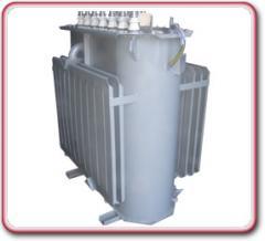 Autotransformers are three-phase dvukhobmotochny