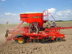 Seeder of Vaderstad Rapid 600P