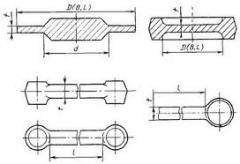 Forgings of U8A, 5HNM, 45HNM, 40HN1MA