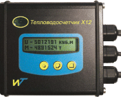 X12 heat meter with the connected mechanical