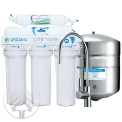 Systems of purification of tap water, Organic