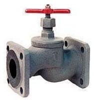 Клапан запорный проходной фланцевый 15кч34п