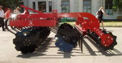 Disk harrow DL-2,5 hoeing plow