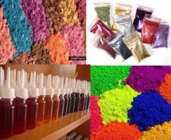 Food fragrances, additives candy stores color