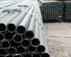 Cold-rolled pipes, Pipes from steel