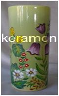 Керамічна ваза (ручний розпис)