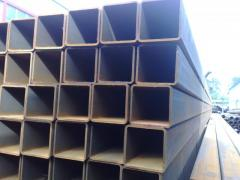 Square steel pipes, seamless pipes, Pipes from