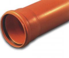 Труба ПВХ канализационная наружная d200/5000мм