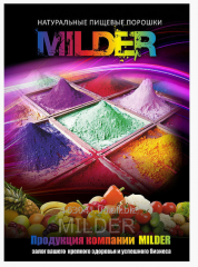 Food powder from MILDER grapes
