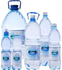 Вода минеральная природная столовая негазированная «Тальновская»