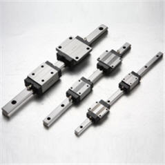 Rail linear guides, carriages