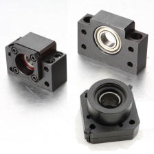 Bearing support for drive screws