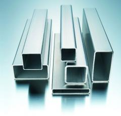 Rectangular pipes, Pipes electrowelded rectangular
