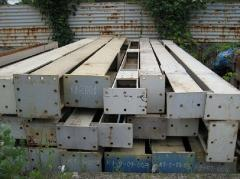 Beams are two-T-shaped steel special, Beams steel