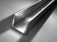 Channel No. 10-30 new and \at, Channels steel