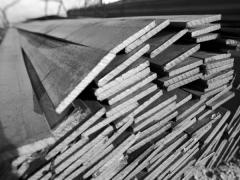 Steel strips 20-40 x 4-8, 50-60 x 4-10 measure,