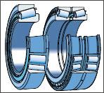Conic roller bearings of SKF (Sweden)