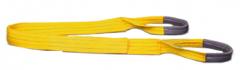 Sling textile loopback