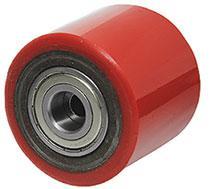 Колеса и ролики из полиуретана для тележки