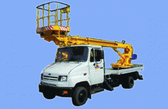 The car lift telescopic AP-15-01 (3-seater), type