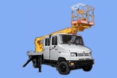 The car lift telescopic AP-15-02 (the 7th local),
