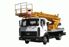 The car lift telescopic AP-18 on the basis of the