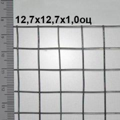 Сварная сетка оцинкованная 12, 7*12, 7*1, 0...