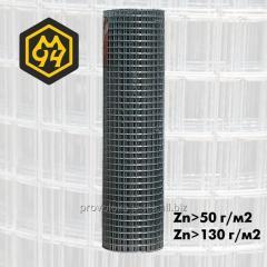 Сетка сварная оцинкованная 16х16 с проволоки 1,4 мм (цинка до 50 г/м2)