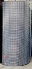 Galvanized welded wire mesh 25x12x0.6 mm (zinc up
