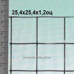 Сетка сварная оцинкованная 25х25х1,2 мм (цинка до 50 г/м2)