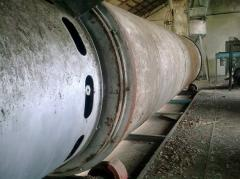 Drying of the ABM 1,5 drum type