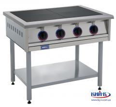 Плиты без духового шкафа с 2-мя, 4-мя или 6-ю