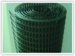 Сетка сварная с полимерным покрытием (ПВХ) 50,8*25,4*1,8/1,4. Сетка для заборов и ограждений