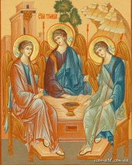 Analoyny icon Holy Trinity