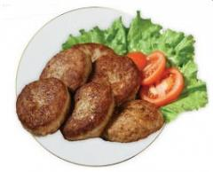 Chopped meat cutlets