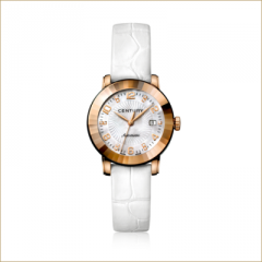 Gold watch ELEGANCE 648.2.Q.N1B.70.CZO