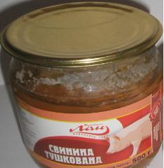 Свинина тушеная СКО 500 гр.