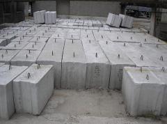 Блоки железобетонные.Фундаментные железобетонные