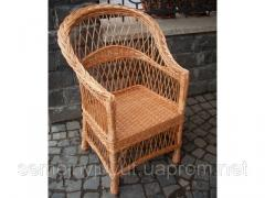 Furniture for use in the open air, the Wicker