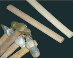 Handles for hammers